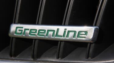 Skoda GreenLine badge