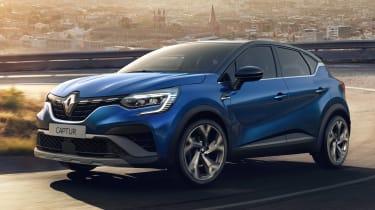 Renault Captur R.S. Line - front action