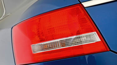 Audi A6 rear light detail