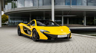 The McLaren P1 costs around £1million.