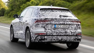Audi Q8 ride review - rear