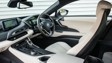 BMW i8 cabin - Footballers' cars
