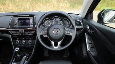 mazda 6 saloon 2013 review pictures | auto express