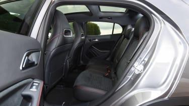 Mercedes GLA - rear seats 2