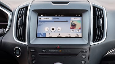 Ford Edge facelift 2018 screen