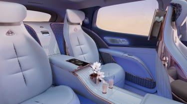 Mercedes-Maybach EQS SUV - rear seats
