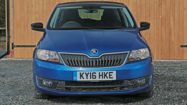 Used Skoda Rapid Spaceback - full front