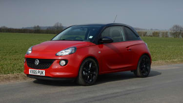 Vauxhall Adam Energised - front/side static