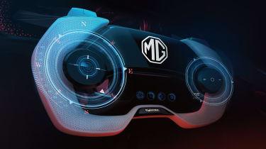 MG Cyberster - wheel