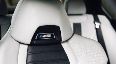 New BMW M5 - seats