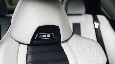 New BMW M5 - seats