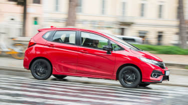 Honda Jazz - side city