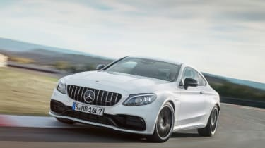 Mercedes-AMG C 63 S - front action