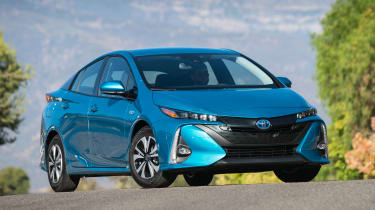 Toyota Prius Prime - front quarter