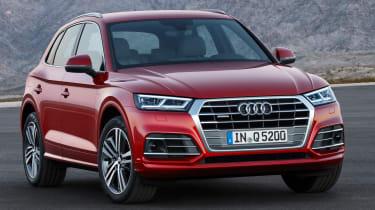 Audi Q5 SUV - front quarter