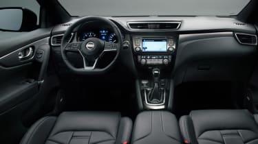 New Nissan Qashqai facelift - dash