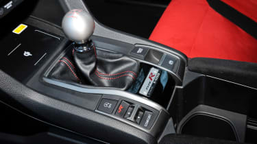 Honda Civic Type R - gear lever