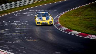 Porsche 911 GT2 RS Nurburgring record - cornering