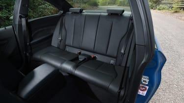 BMW M2 group - rear seats