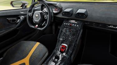 Lamborghini Huracan Performante - dash