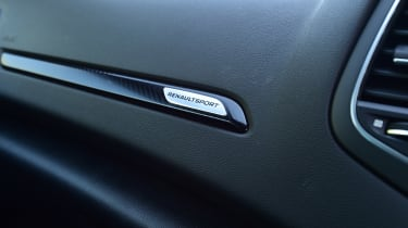 Renault Megane RS - interior detail
