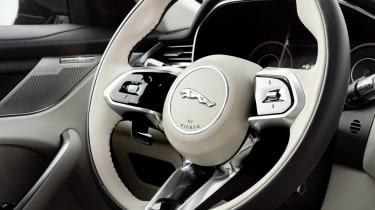 Jaguar F-Pace PHEV - steering wheel