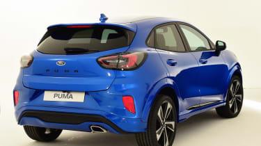 Ford Puma - studio rear