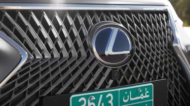 Lexus LS 500h - grille