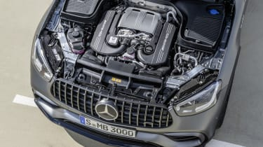 Mercedes-AMG GLC 63 S - engine