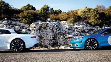 Renault Alpine Vision concept - twin car 2