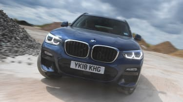 BMW X3 - full front