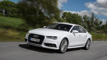 Audi A7 Ultra tracking