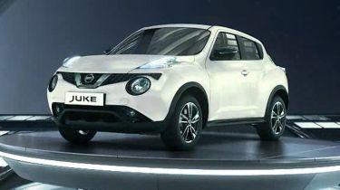 Car configurator overkill - Nissan Juke