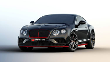 Bentley Monster by Mulliner - front three quarter