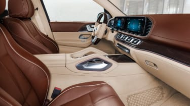 Mercedes-Maybach GLS - front seats