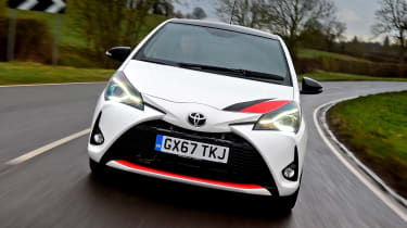 Toyota Yaris GRMN - full front