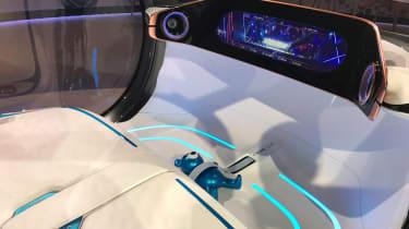 Smart Vision EQ ForFour concept - reveal interior
