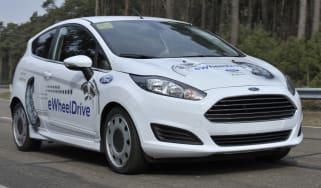 Ford Fiesta eWheelDrive front