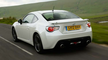 Toyota GT 86 rear action