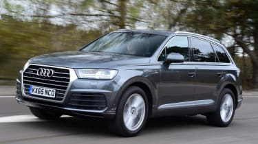 Audi Q7 2016 - front tracking