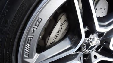 Mercedes CLS - wheel