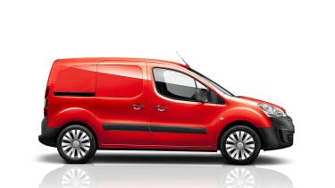 Citroen Berlingo Van 2015 facelift - side