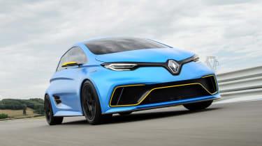 Renault ZOE E-Sport concept - front action