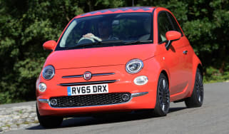 Fiat 500 - front cornering