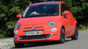 Fiat 500 - front cornering