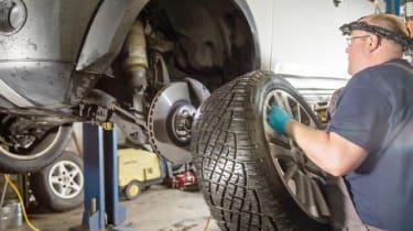 How to investigate TDV6 turbocharger noise - step 1