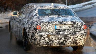 Rolls-Royce Ghost spies - rear