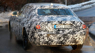 Rolls-Royce Ghost spies - rear