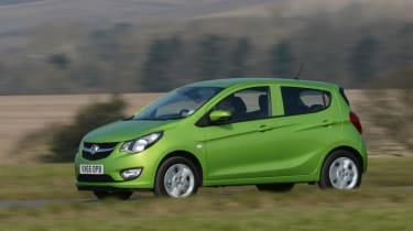 Vauxhall Viva ecoFLEX 2016 - front tracking