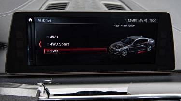 BMW M5 prototype - drive select